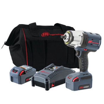 Ingersoll Rand IRTW7152-K22 Brushless Lithium-Ion 1/2 in. Cordless High-Torque Impact Wrench Kit (5 Ah)