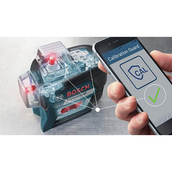 Bosch GLL3-330C 360-Degrees Connected Three-Plane Leveling and Alignment-Line Laser image number 3