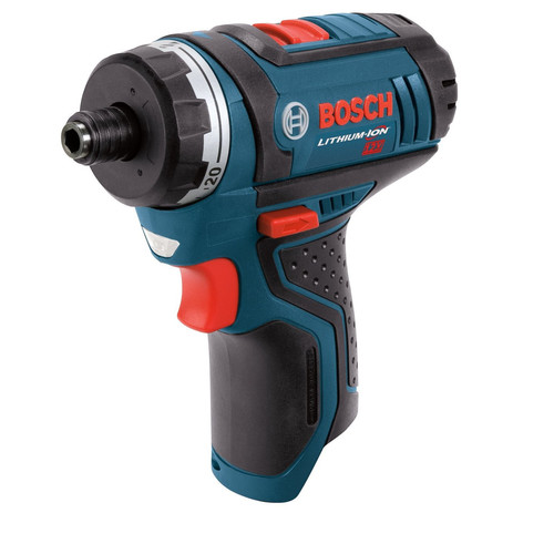Bosch PS21BN 12V Max Lithium-Ion 2-Speed 1/4 in. Cordless Pocket Driver with Exact-Fit Tool Insert Tray (Tool Only) image number 0