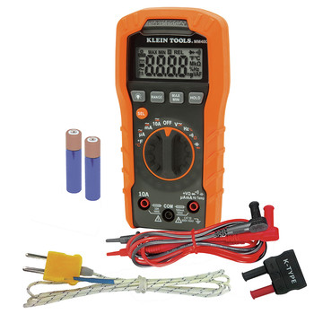 Klein Tools MM400 600V Auto-Ranging Digital Multimeter