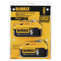 Dewalt DCB205-2 20V MAX XR Premium 5 Ah Lithium-Ion Battery (2-Pack) image number 2