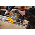 Dewalt DCS520ST1 FLEXVOLT 60V MAX 6-1/2 in. (165mm) Cordless Track Saw Kit with 59 in. Track image number 9