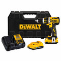 Factory Reconditioned Dewalt DCD795D2BTR 20V MAX XR Lithium-Ion Compact Brushless 1/2 in. 2-Speed Hammer Drill Kit with ToolConnect 2.0 Ah Batteries