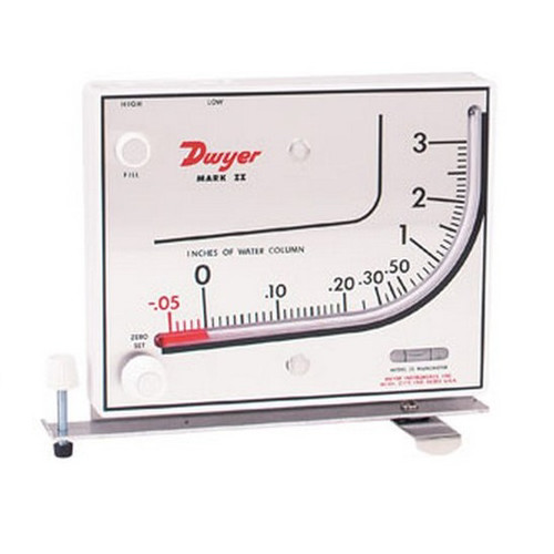 Air Filtration Co. 250 Manometer for Spray Booths