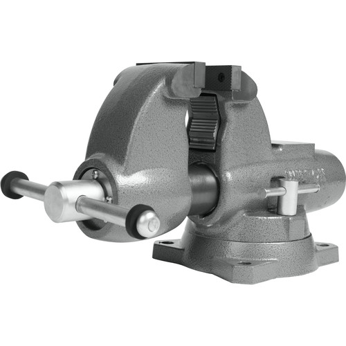 Wilton 28825 C-0 Combination Pipe and Bench 3-1/2 in. Jaw Round Channel Vise with Swivel Base image number 0