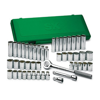"""12mm Socket 12 Pt. SK PROFESSIONAL TOOLS 40312 1//2/"""" Dr"""