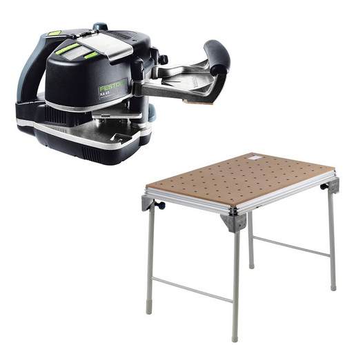 Festool KA 65 Conturo Edge Bander plus MFT/3 Basic  Multi-Function Work Table