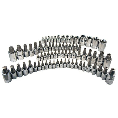 ATD 13772 72-Piece Master Torx Bit Socket Set image number 0