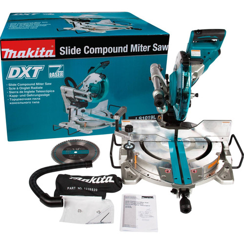 Makita Ls1019l 10 In Dual Bevel Sliding Compound Miter Saw With Laser Cpo Outlets