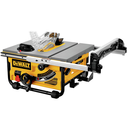 Factory reconditioned dewalt dw745r 10 in compact jobsite table saw greentooth Choice Image