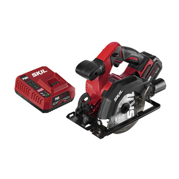 Skil CR541802 PWRCore 12 12V Brushless Lithium-Ion 5-1/2 in. Cordless Circular Saw Kit (4 Ah)