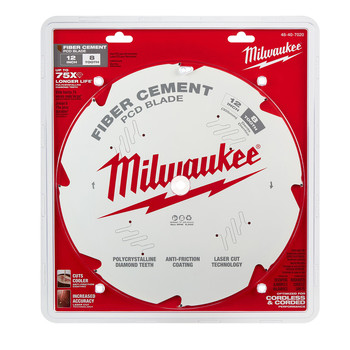 Milwaukee 48-40-7020 12 in. PCD/Fiber Cement Circular Saw Blade