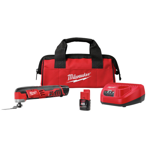 Factory Reconditioned Milwaukee 2426-82 M12 12V Cordless Lithium-Ion Multi-Tool Kit