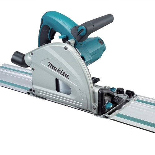 Makita SP6000J1 6-1/2 in. Plunge Circular Saw with 55 in. Guide Rail image number 0