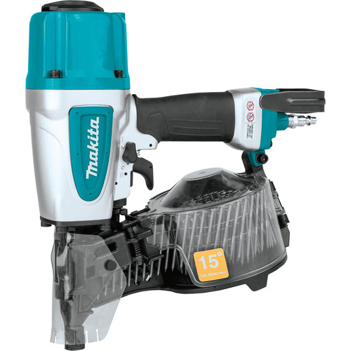 Makita AN613 2-1/2 in. 15 Degree Siding Coil Nailer image number 0