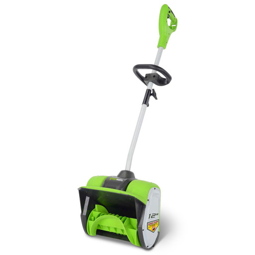 Greenworks GBSS08000 8 Amp 12 in. Electric Snow Shovel