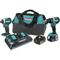 Makita XT275PT 18V LXT Lithium-Ion Brushless 2-Pc. Combo Kit (5.0Ah)