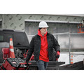 Milwaukee 350R-S Heavy Duty Pullover Hoodie - Red, Small image number 7