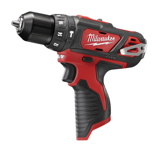 Factory Reconditioned Milwaukee 2408-80 M12 12V Cordless Lithium-Ion 3/8 in. Hammer Drill/Driver (Bare Tool)