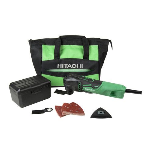Hitachi CV350V Oscillating Multi Tool Kit - 3.5-Amp