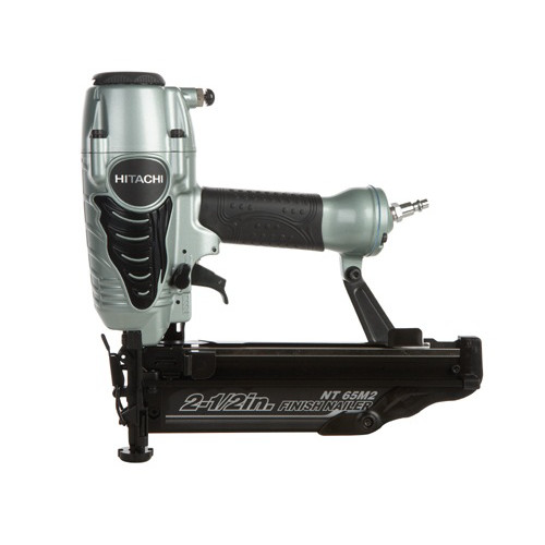 Hitachi NT65M2S 16-Gauge 2-1/2 in. Oil-Free Straight Finish Nailer Kit