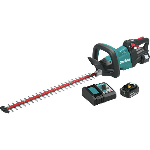 Makita XHU07T 18V LXT Lithium-Ion Brushless Cordless 24 in. Hedge Trimmer Kit (5 Ah) image number 0