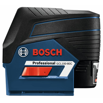 Bosch GCL100-80C 12V Cross-Line Laser with Plumb Points image number 5