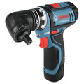 Factory Reconditioned Bosch GSR12V-140FCB22-RT 12V Lithium-Ion Max FlexiClick 5-In-1 1/4 in. Cordless Drill Driver System Kit (2 Ah) image number 1