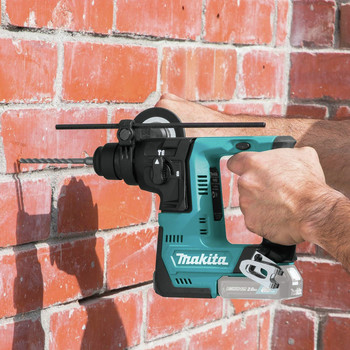 Makita RH02Z 12V max CXT Lithium-Ion 9/16 in. Rotary Hammer, accepts SDS-PLUS bits, Tool Only image number 5