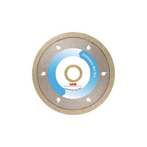 MK Diamond MK-250GXC 4 in. Continuous Rim Dry Cutting Blade