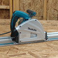 Makita SP6000J1 6-1/2 in. Plunge Circular Saw with 55 in. Guide Rail image number 1