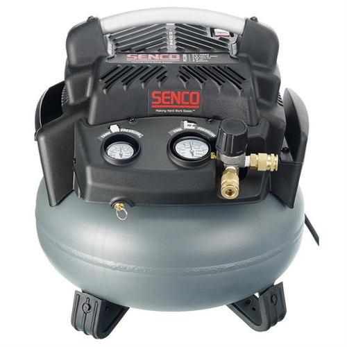 SENCO PC1280 1.5 HP 6 Gallon Pancake Air Compressor