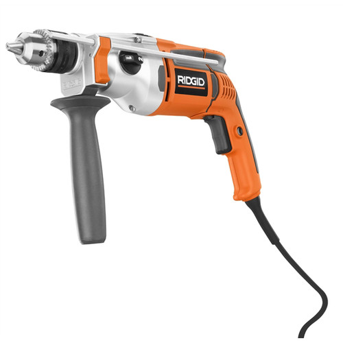 Factory Reconditioned Ridgid ZRR5011 8.5 Amp 0 - 3000 RPM 2-Speed Heavy-Duty 1/2 in. Corded Hammer Drill