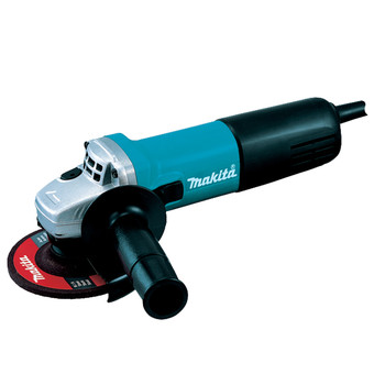 Makita HR2811FX 1-1/8 in. 3-Mode SDS-PLUS Rotary Hammer with FREE 4-1/2 in. Angle Grinder image number 2