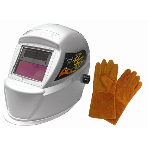 Astro Pneumatic 8075SE Solar Welding Helmet with Gloves