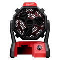 Milwaukee 0886-20 M18 18V Portable Jobsite Fan with AC Adapter (Bare Tool)