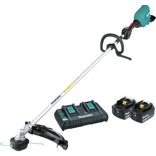 Makita XRU17PT 18V X2 (36V) LXT Brushless Lithium-Ion Cordless String Trimmer Kit (5 Ah) image number 0