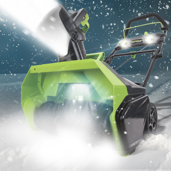 Greenworks 26272 40V G-MAX Li-Ion 20 in. Snow Thrower image number 3