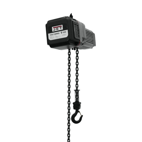 JET VOLT-100-13P-10 1 Ton 1-Phase/3-Phase 230V Electric Chain Hoist with 10 ft. Lift image number 0