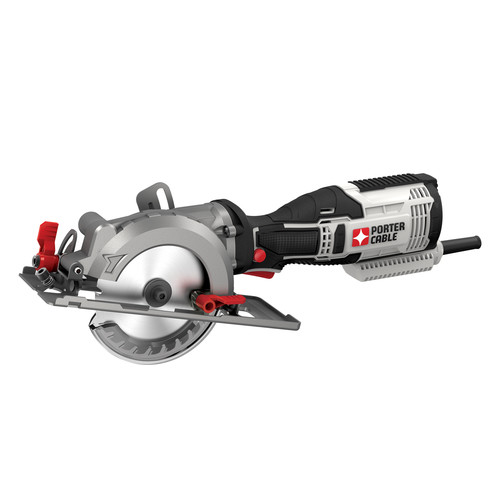 Porter-Cable PCE381K 5.5 Amp 4-1/2 in. Compact Circular Saw Kit