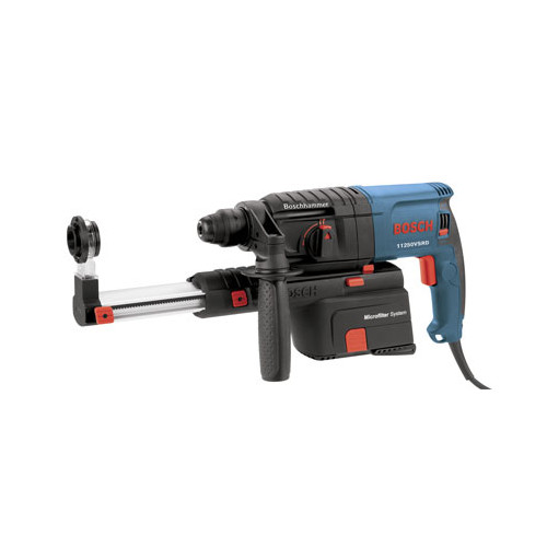 Bosch 11250VSRD 120V 3/4 in. Bulldog Rotary Hammer with Dust Collection