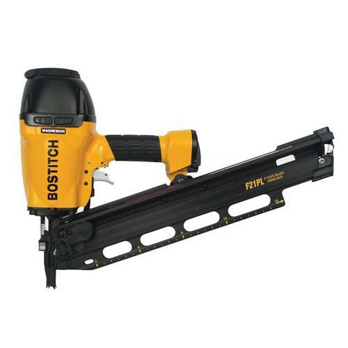 Bostitch F21PL2 21 Degree 3-1-2 in. Framing and Metal Connector Nailer