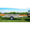 Detail K2 MMT5X7G 5 ft. x 7 ft. Multi Purpose Utility Trailer Kits (Galvanized) image number 6