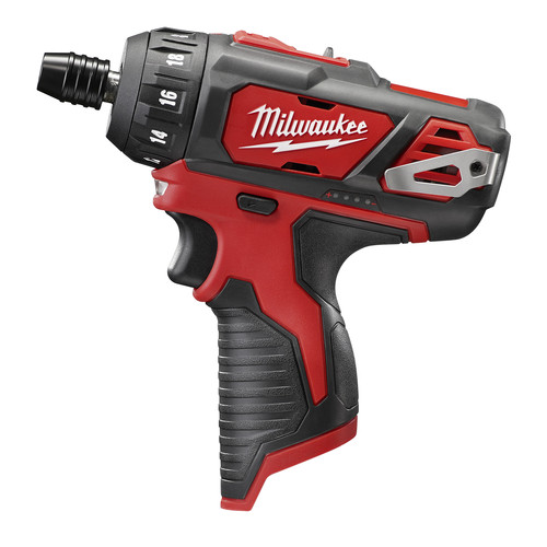 Factory Reconditioned Milwaukee 2406-80 M12 12V Cordless Lithium-Ion 1/4 in. Screwdriver (Bare Tool)