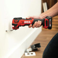 Skil OS592702 PWRCore 12 12V Brushless Lithium-Ion Oscillating Cordless Multi-Tool Kit (2 Ah) image number 12