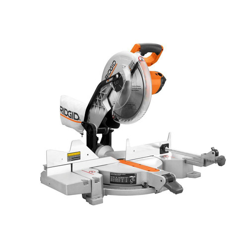 Factory Reconditioned Ridgid ZRR4112 15 Amp 10 in. Dual Bevel Compound Miter Saw