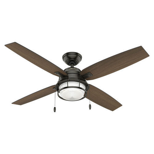 Hunter 59214 52 in. Ocala Noble Bronze Ceiling Fan with Light