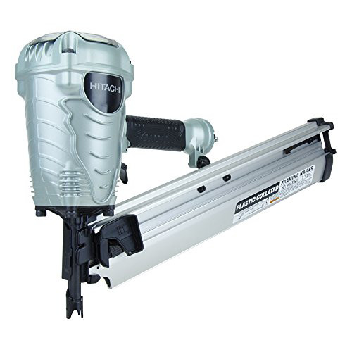 Hitachi NR90AES1X 2 in. to 3-1/2 in. Plastic Collated Framing Nailer