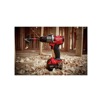 Milwaukee 2803-22 M18 FUEL Lithium-Ion 1/2 in. Cordless Drill Driver Kit (5 Ah) image number 3