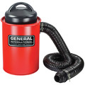 General International BT8008 2-in-1 9.2A Portable 13 Gal. Dust Collector with Metal Dust Collection Drum